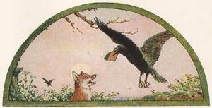 The Raven And The Fox – Jean De La Fontaine Fables
