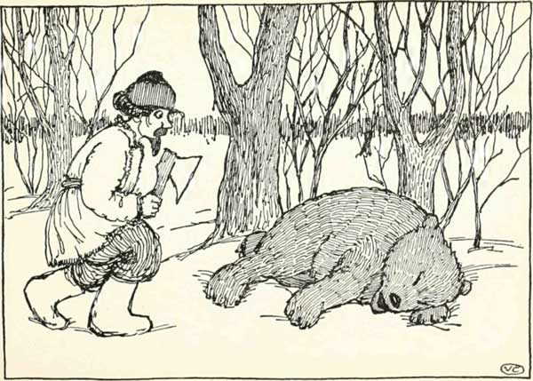 THE BEAR'S PAW – Russian Fairy Tales – Pictures