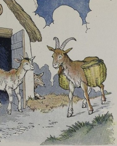 THE WOLF, THE KID, AND THE GOAT – Aesop Fables for Kids
