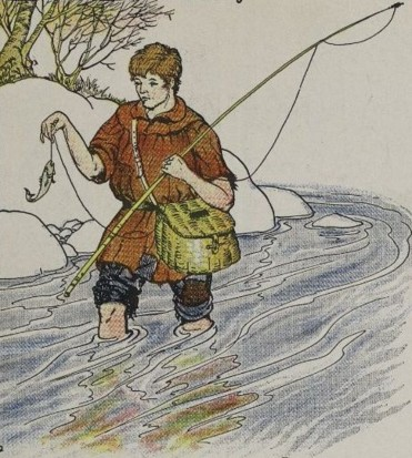 THE FISHERMAN AND THE LITTLE FISH - Aesop Fables for Kids