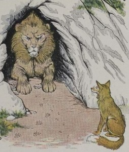 Read more about the article THE OLD LION AND THE FOX – Aesop Fables for Kids