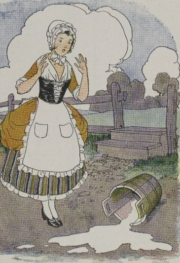 THE MILKMAID AND HER PAIL - Aesop Fables for Kids