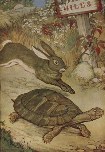THE HARE AND THE TORTOISE – Aesop Fables for Kids