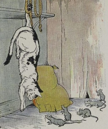 THE CAT AND THE OLD RAT - Aesop Fables for Kids