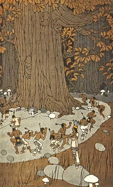THE LITTLE PEOPLE – Stories the Iroquois Tell Their Children by Mabel Powers
