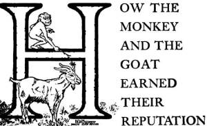 09 How the Monkey and the Goat