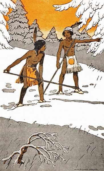 49 HOW TWO INDIAN BOYS SETTLED A qUARREL
