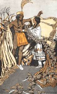 CORN PLUME AND BEAN MAIDEN – Stories the Iroquois Tell Their Children by Mabel Powers