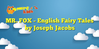MR. FOX – English Fairy Tales by Joseph Jacobs