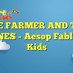 THE FARMER AND THE CRANES – Aesop Fables for Kids