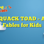 THE QUACK TOAD – Aesop Fables for Kids