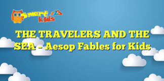 THE TRAVELERS AND THE SEA – Aesop Fables for Kids