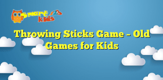Throwing Sticks Game – Old Games for Kids