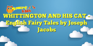 WHITTINGTON AND HIS CAT – English Fairy Tales by Joseph Jacobs