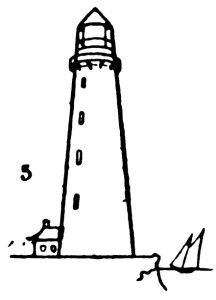 Step by step drawing for kids - How to draw Lighthouse 5