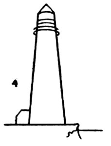 Step by step drawing for kids - How to draw Lighthouse 4