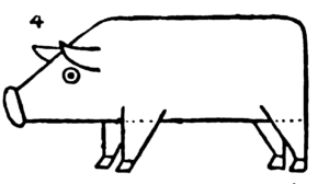 Pig Toy - Drawing for kids step by step 4