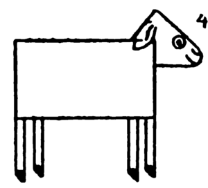 Sheep Toy - Drawing for kids step by step 4