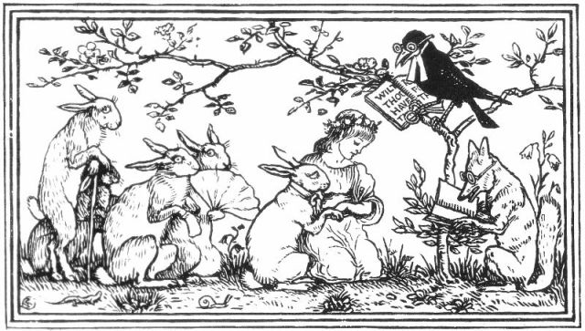 The Rabbit's Bride - Household Stories by the Brothers Grimm 02