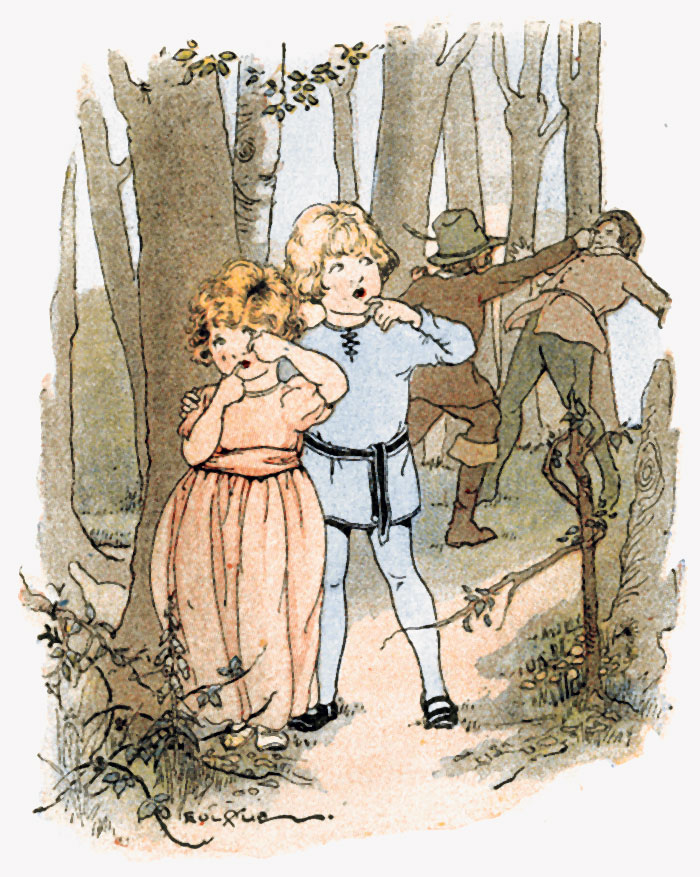 Babes in the Wood - Story for kids with pictures - fig 2