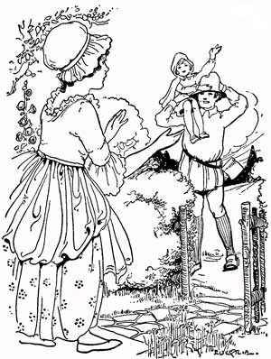 Little Red Riding Hood Story With Pictures -
