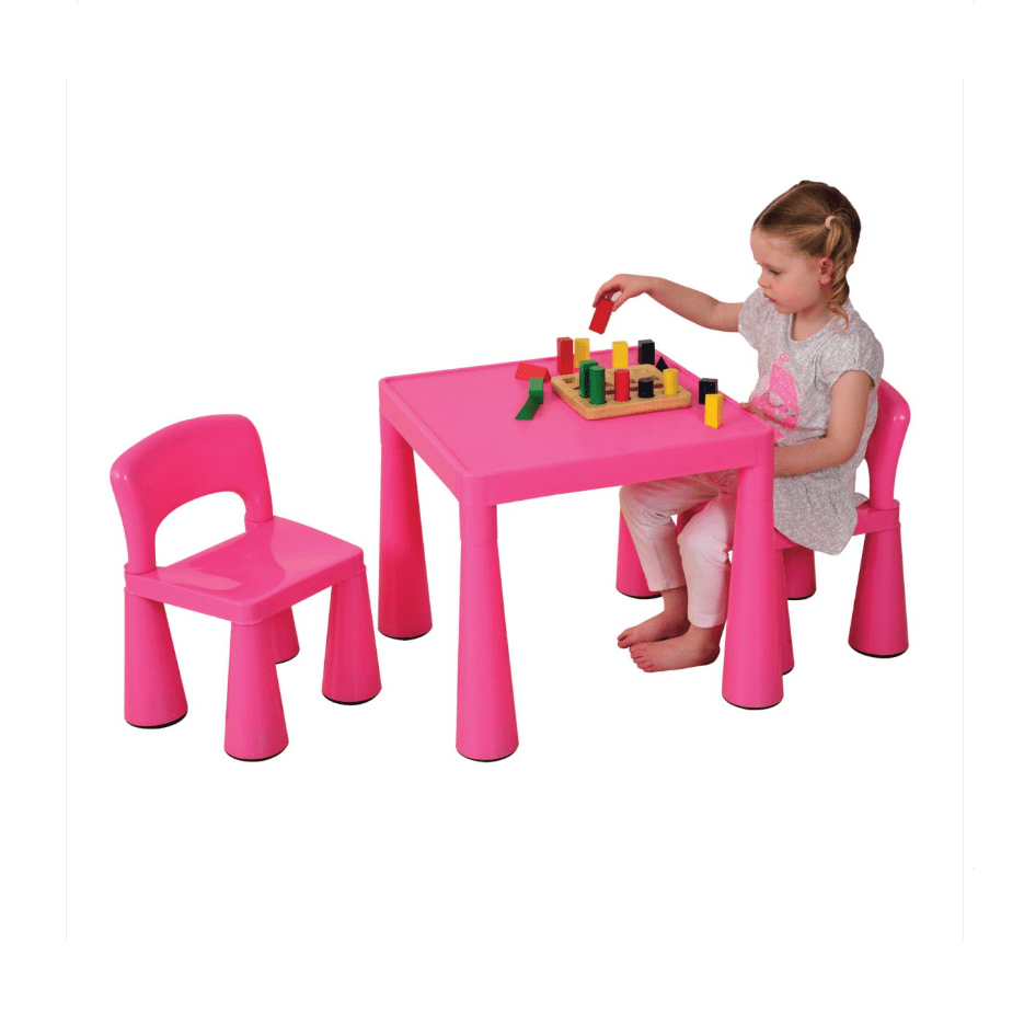 Kidkraft Heart Table And Chair Set Liberty House Toys Children S Pink Table Chairs Set