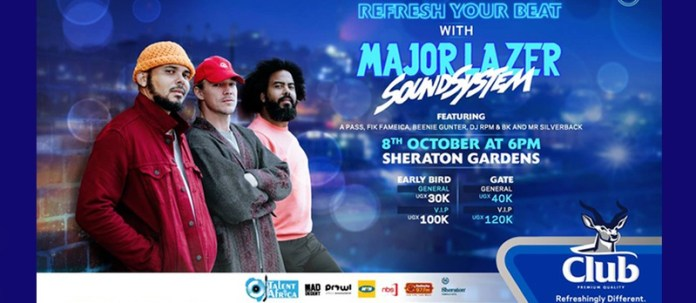 Smart Tickets - Major Lazer live in Kampala concert - Simple & Convenient