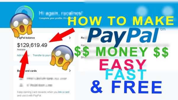 how to trick PayPal into giving you money