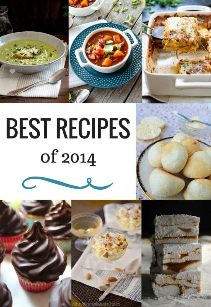 Best 10 Recipes of 2014   SmartLittleCookie.net