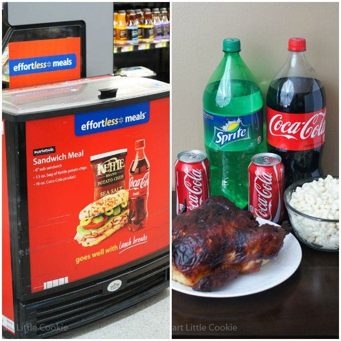 Coca Cola Effortless Meals | smartlittlecookie.net