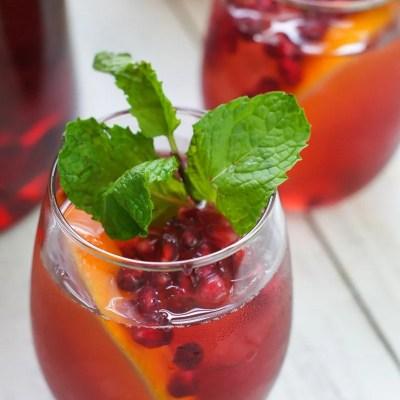 Pomegranate Holiday Sangria