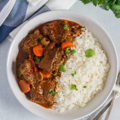 Spicy Oxtail Stew (Rabo Encendio)
