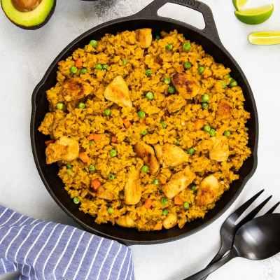 Chicken and Rice Mexican Style (Arroz con Pollo)