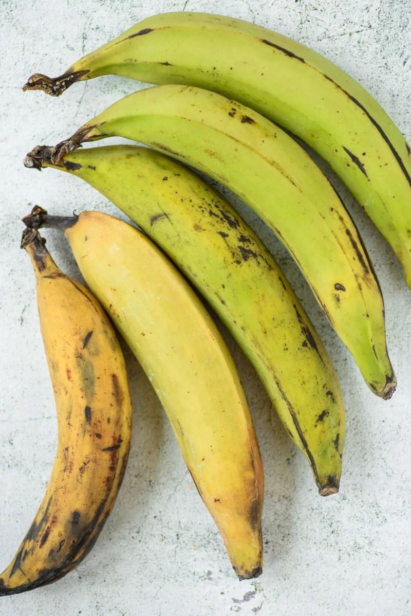 Latin Caribbean Food: Plantains