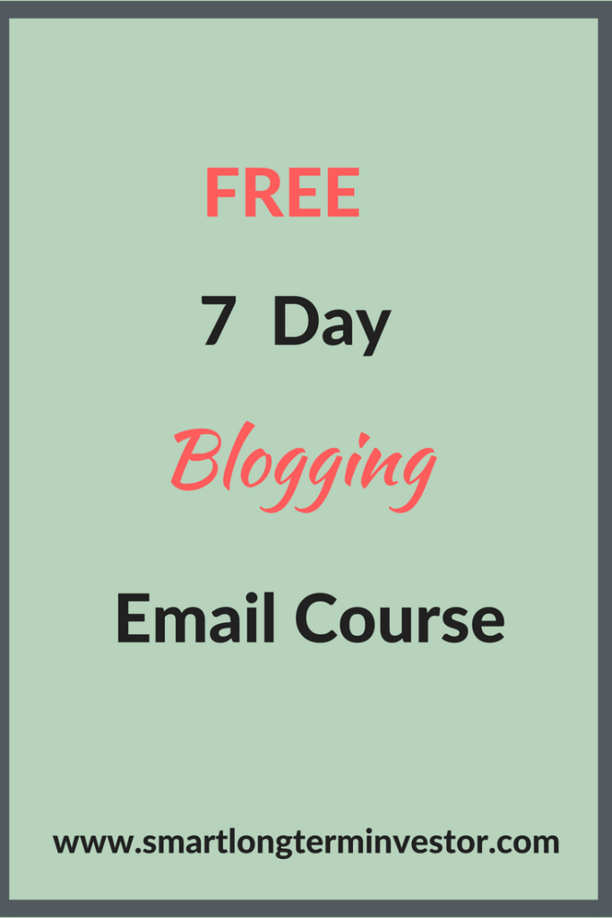 How To Start A blog on Bluehost in 5 easy steps and free 7 day blogging email course.