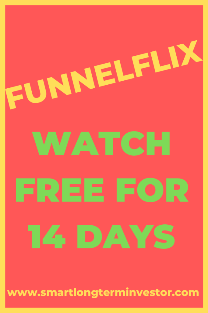 Watch Funnelflix free for 14 days with I Love ClickFunnels package that gives you Clickfunnels free trial.