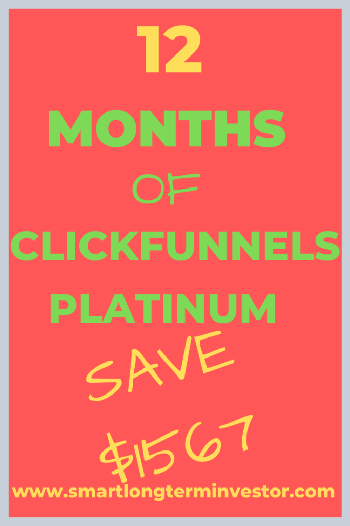 ClickFunnels One Funnel Away (OFA) Platinum Christmas special deal gives you 12 months of ClickFunnels for $1997 saving $1567 plus OFA Platinum bonuses.