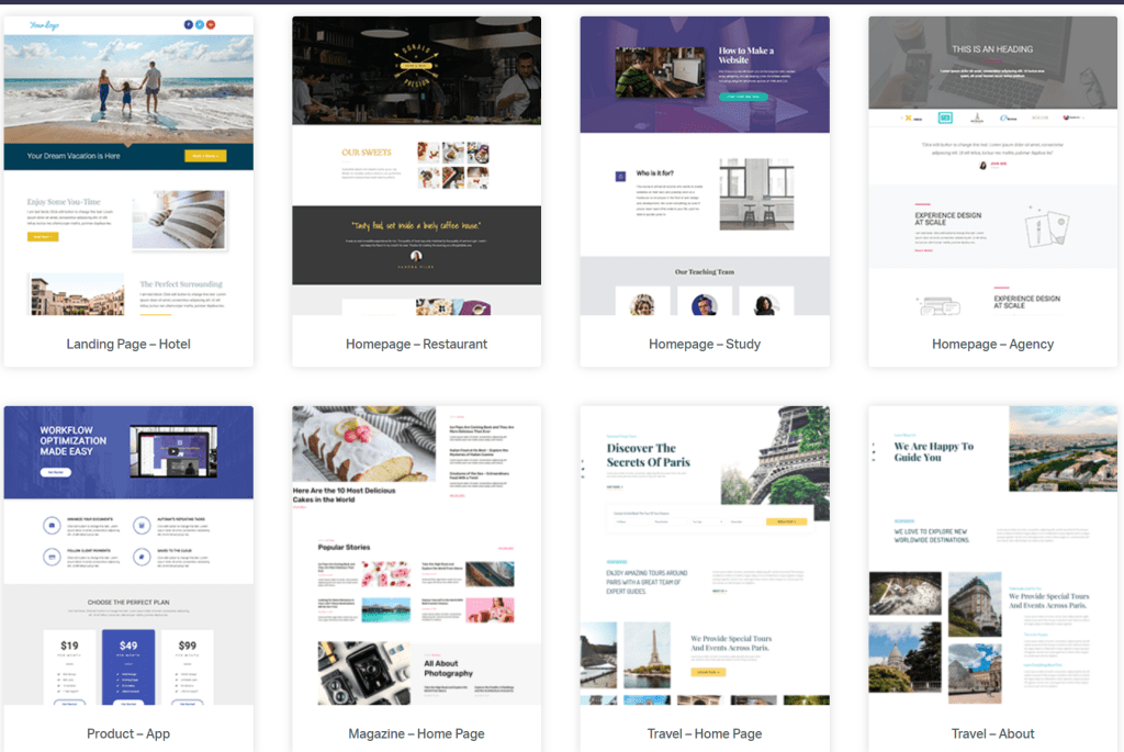 Elementor is a fast, visual, drag-and-drop WordPress page builder with live in-line editing, free and paid pro versions and over 100 pre-built templates