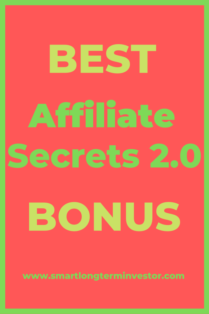 Best Affiliate Secrets 2.0 bonus package available today when you invest in Spencer Mecham's best affiliate marketing course