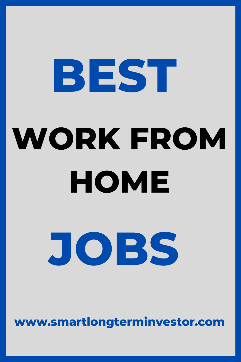 Best Work From Home Jobs - Why Affiliate Marketing?