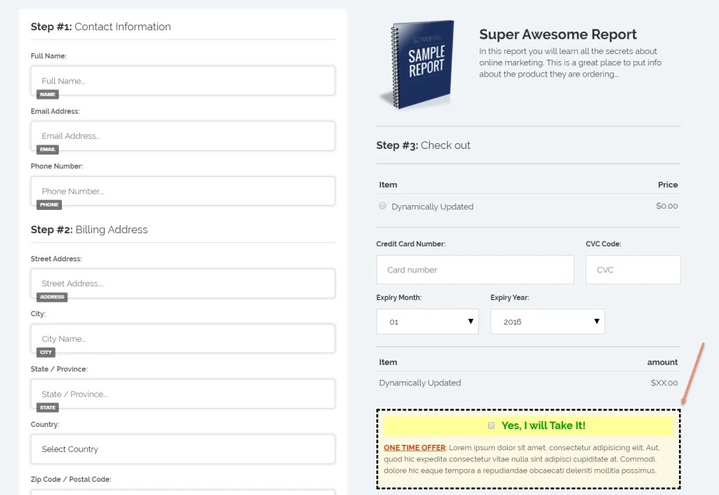 How To Add An Order Form Template and Order BumpTo A ClickFunnels Sales Funnel