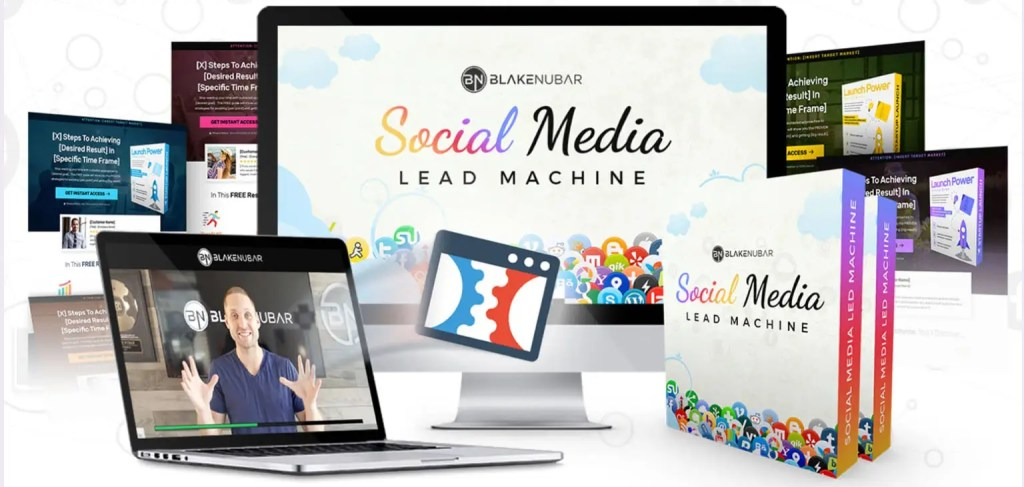 Social Media Lead Machine is a program developed by Blake Nubar that lets you generate free leads and sales from social media by transforming your Facebook profile ino a lead machine