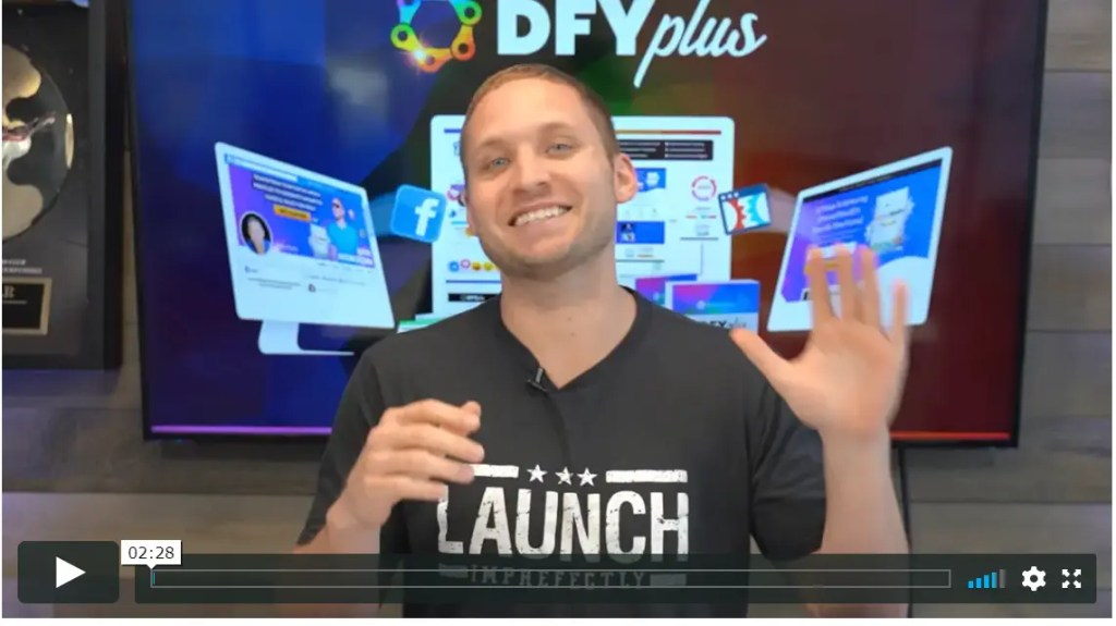 The Done For You (DFY plus) is an add-on high ticket service to the Social Media Lead Machine Partner Program
