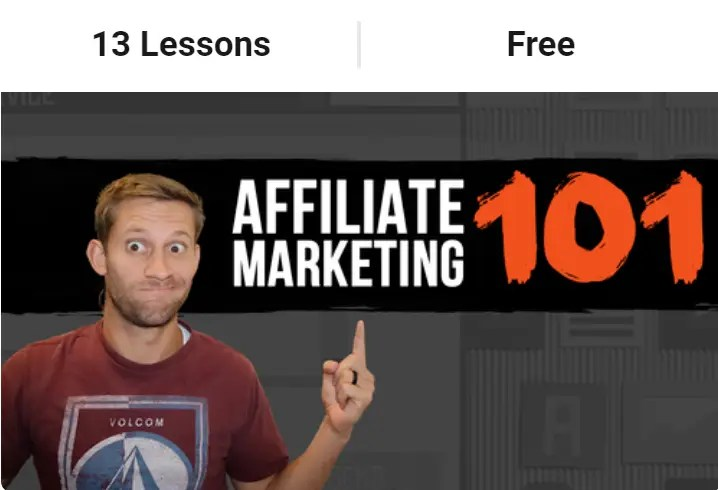Buildapreneur free affiliate marketing 101 course by Spencer Mecham to help the beginner get started with affiliate marketing