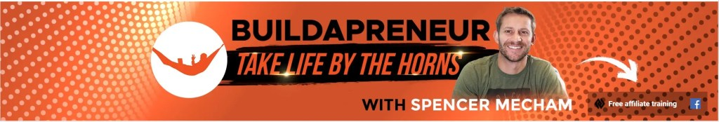 Buildapreneur YouTube is Spencer Mecham's Affiliate Marketing brand on YouTube also with free courses, social media channels and Affiliate Secrets 2.0 course