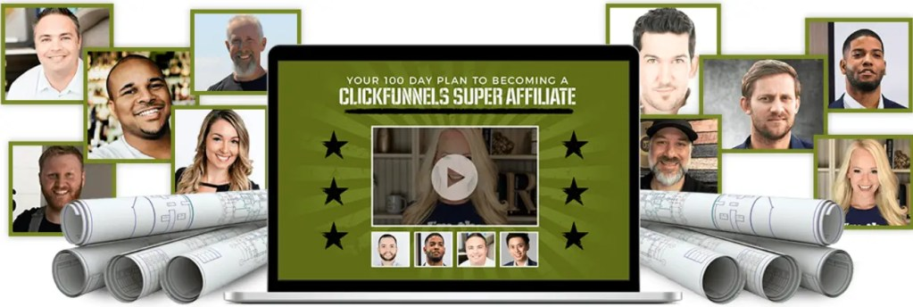 The Affiliate Bootcamp Summit is a free Clickfunnels affiliate training using the 100 day plans of 15 super affiliaates who have won won the dream car detailing what they would do if they had to start all over again from scratch
