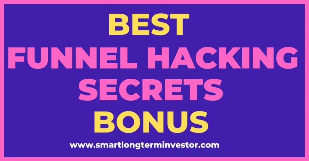Best Funnel Hacking Secrets bonus package available today when you invest to get ClickFunnels Platinum for 6 months for $997 plus bonus training bundle