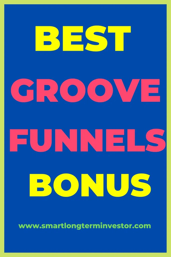 Best bonus for GrooveFunnels available today when you upgrade from the free to the unlimited Platinum Lifetime pricing plan for the complete all-in-one suite of marketing apps including sales funnels to sell any product or service online.