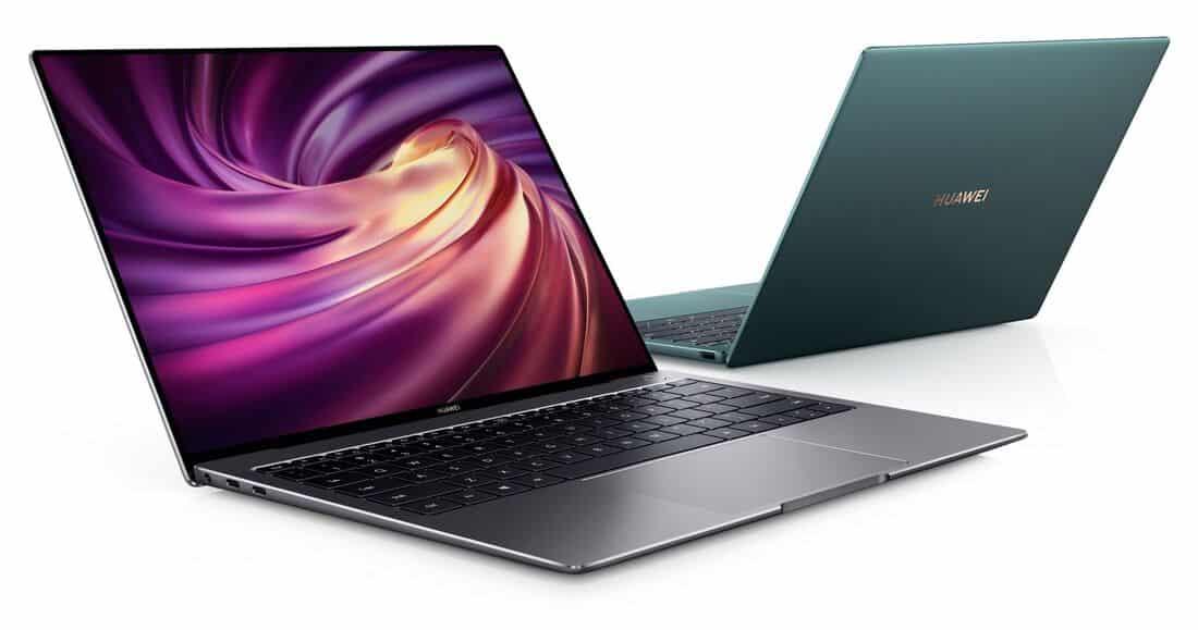 Новият MateBook X Pro на Huawei се предлага в зелен цвят и най-новите чипове на Intel
