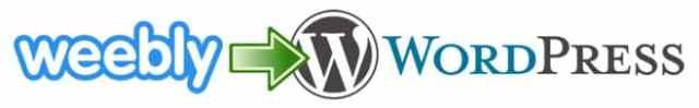 Местене от Weebly към WordPress